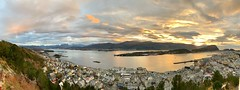 Panorama of Ålesund
