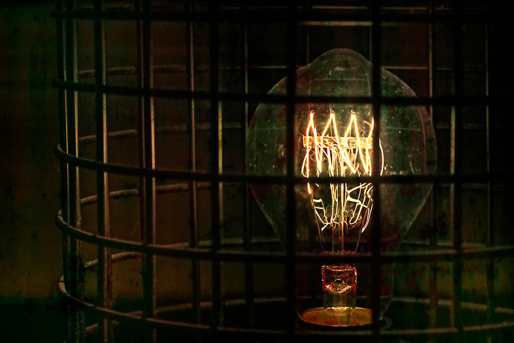 Abstract lamp/light bulb