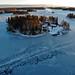 Isen har lagt sig i Spillersboda