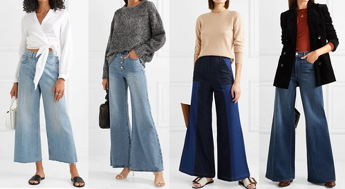 джинсы клеш тренд 2018 2019