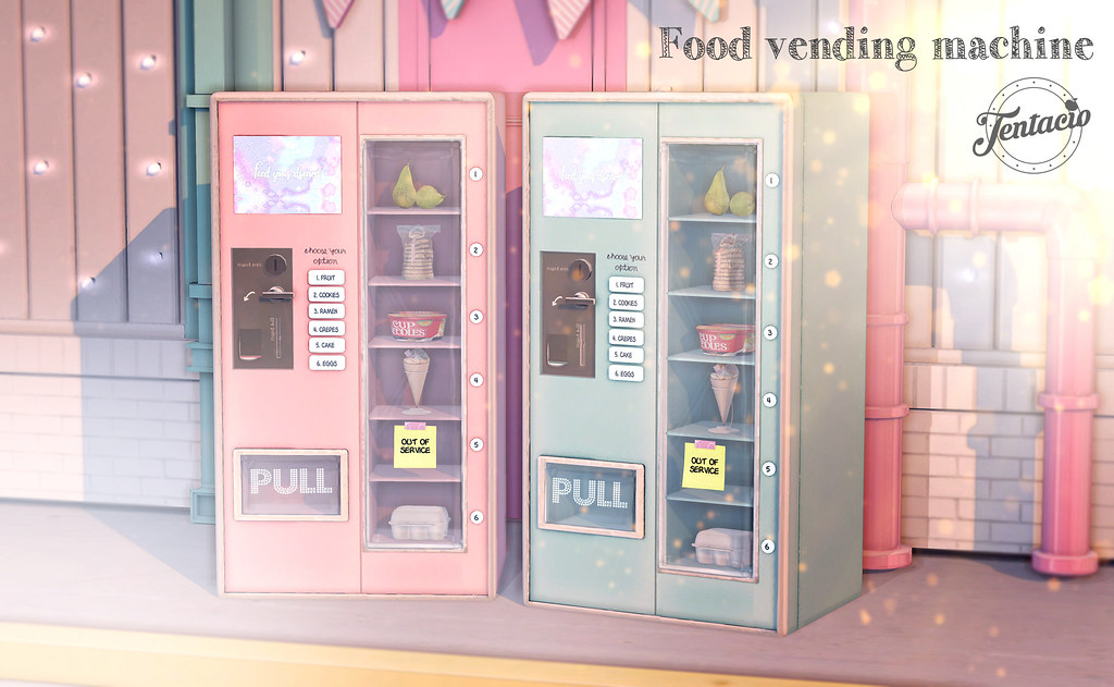 Tentacio - Food Vending Machine - TeleportHub.com Live!