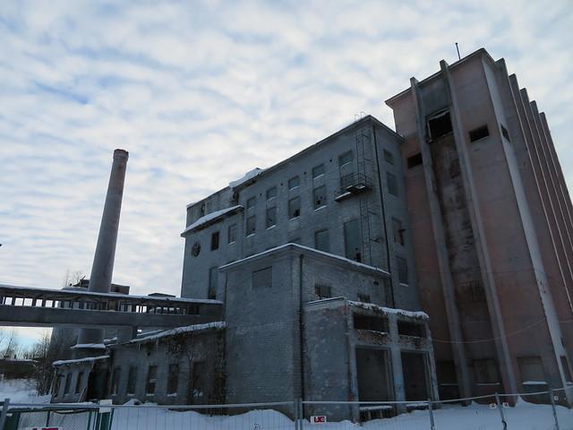 Rikastusvabrik / Flotation separation plant for phosphate rock, Estonia