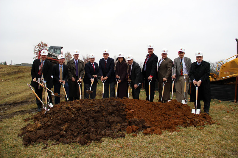Johnson County Medical Examiner Facility Groundbreaking