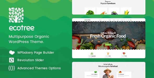 Ecotree v1.1 - Organic Food WordPress Theme
