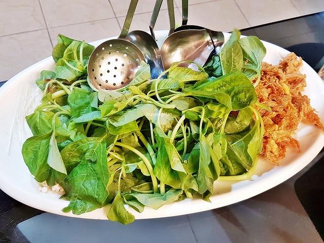Steamboat - Platter Of Vegetables