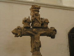 20080519 25976 Jakobus Montreal Kirche Kreuzigung Jesus Statue - Photo of Marmeaux