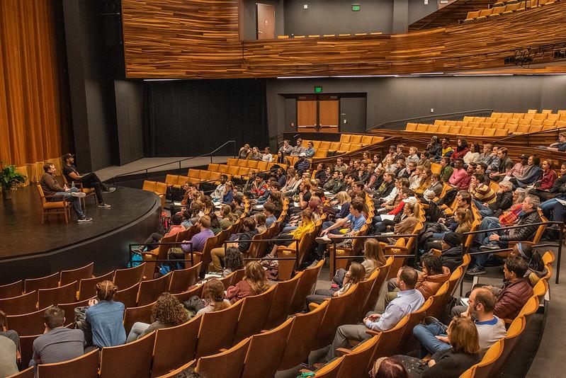 Hamilton Actors Host Q&A with Point Park University Students