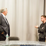 44092976650 ESPN's Bob Ley '76 Teaches Master Class