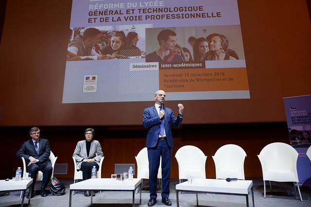 Séminaire interacadémique de Toulouse et Montpellier sur la réforme du lycée
