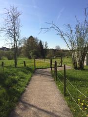 Éguenigue, sentier de la Creuse