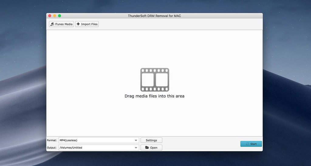 ThunderSoft DRM Removal 2 10 5 – An easy to use DRM removal software