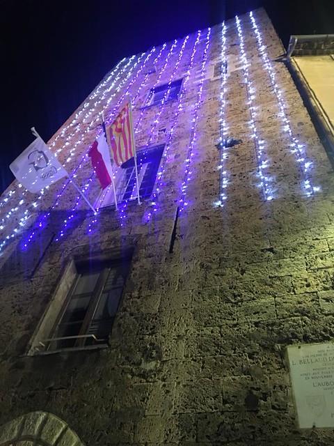 Illuminations de Noël à Grasse