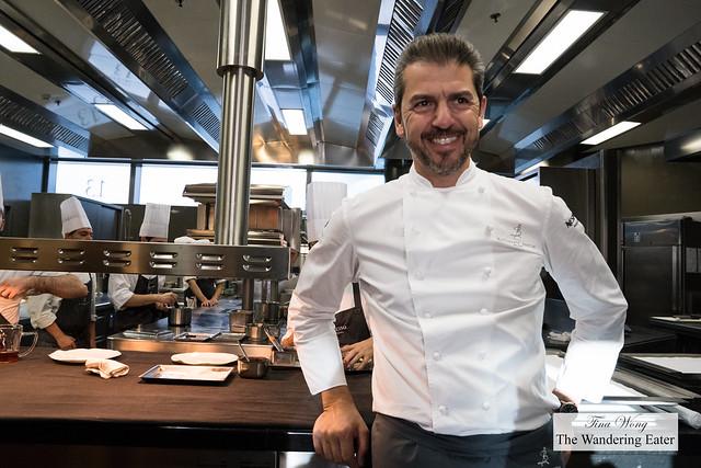 Chef/Owner Andrea Berton