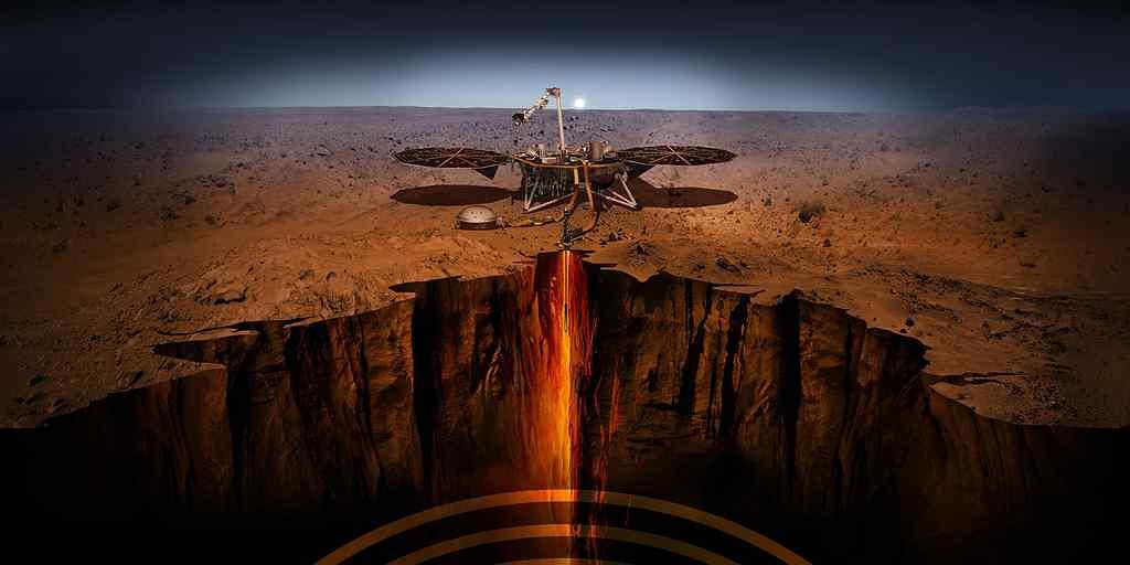 NASA : InSight tentera son atterrissage sur Mars