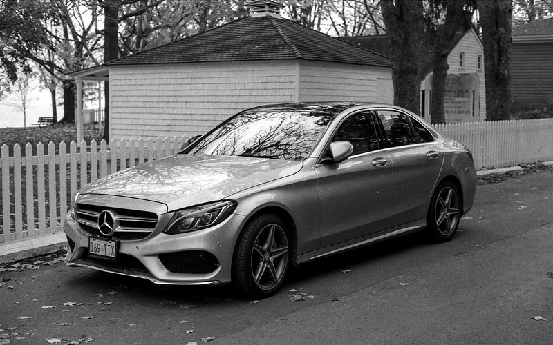 C Series Benz in Silver