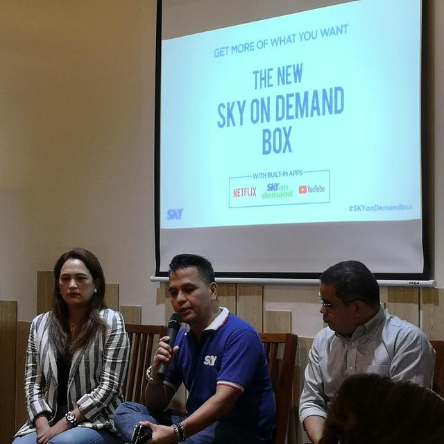 sky on demand box launch in davao at lara mia IMG_20181206_132014