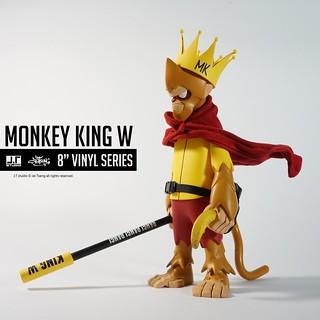 霸氣外露的美猴王駕到!! J.T studio 8″ Vinyl 系列【Monkey King W】搪膠人偶作品