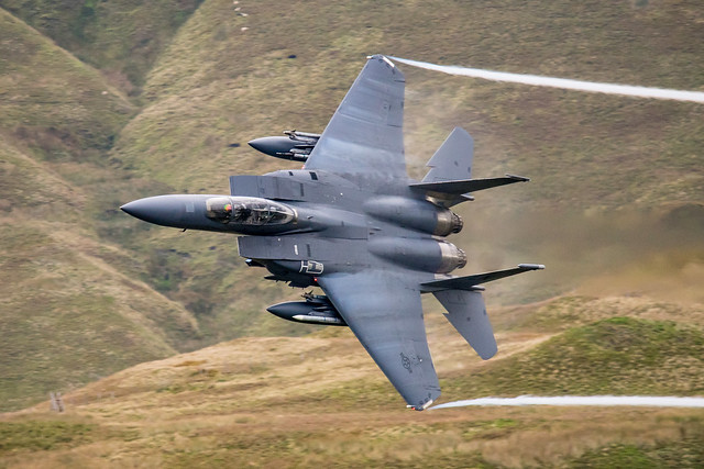 F-15 at Bwlch Sept 2018, Sony ILCA-77M2, Sigma 150-500mm F5-6.3 APO DG OS HSM