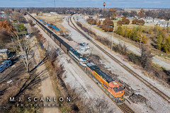 BNSF 5891 | GE ES44AC | BNSF Thayer South Subdivision