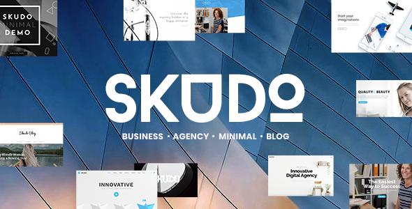 Skudo v1.2 – Responsive Multipurpose WordPress Theme