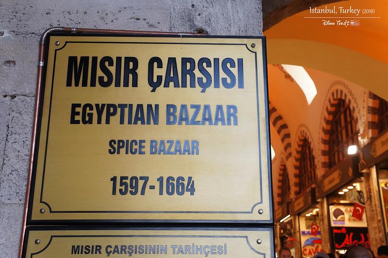 2018 Turkey Istanbul Spice Bazaar 4