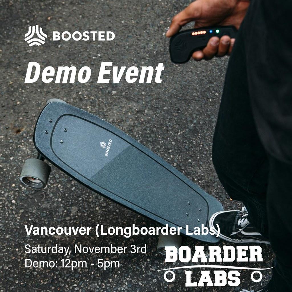 Demo-Event – Vancouver Boarder Labs drop