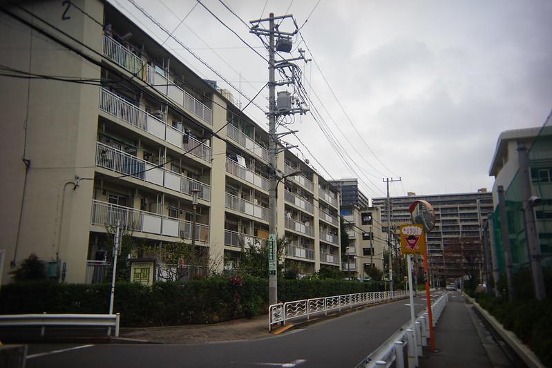 Sony α7Ⅱ+Utulens豊洲都営住宅団地