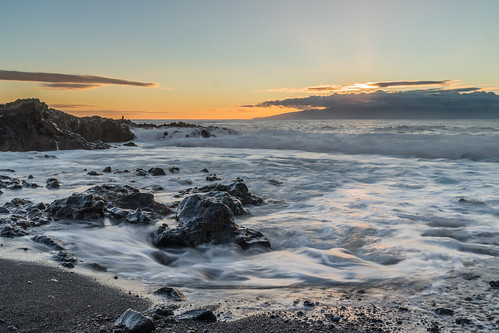 ziess canary beach landscape sunset sony winter sand light