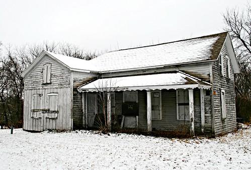 Abandoned Farmhouse - Bassett, Wisconsin