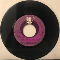 GLADYS KNIGHT & THE PIPS:NEITHER ONE OF US(RECORD SIDE-B)