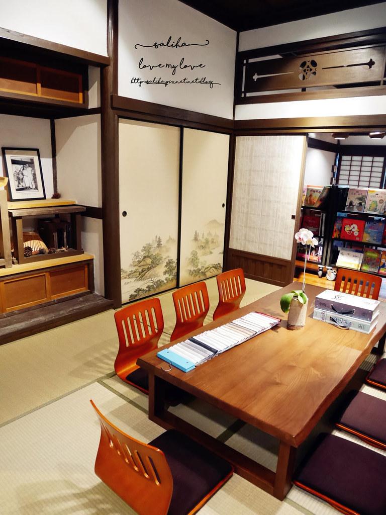 台北古亭站附近不限時日式咖啡廳下午茶推薦雅鴿書院 (8)
