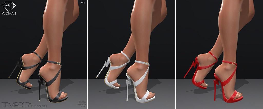 G&D Sandals Tempesta line adv - TeleportHub.com Live!