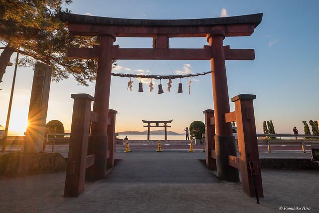 Shirahige shrine 白髭神社, Fujifilm X-E2, XF10-24mmF4 R OIS