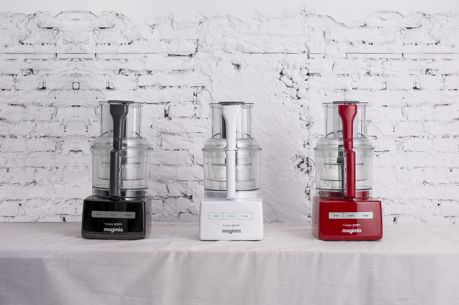 【magimix】magimix食物處理機共推出兩款機型,皆有黑白紅三色可選