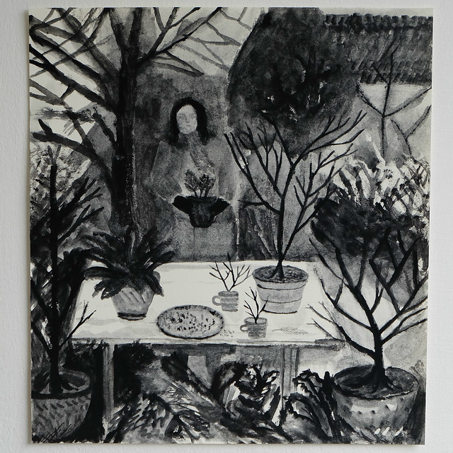 a winter table