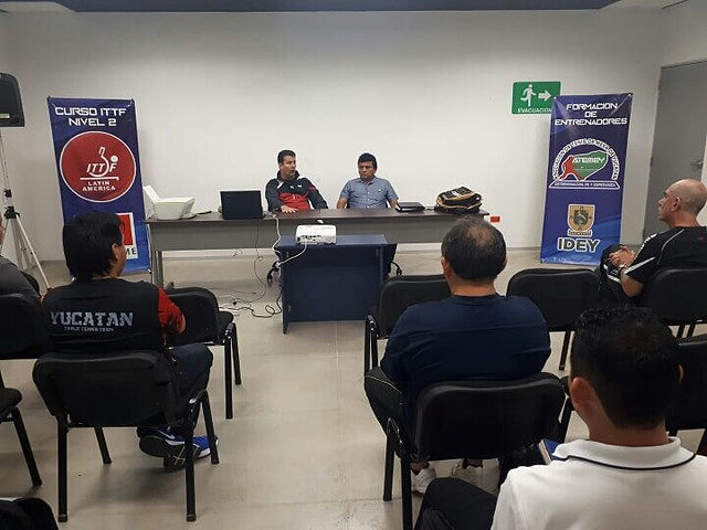 Mexico - 2018 ITTF COACH COURSE Yucatan