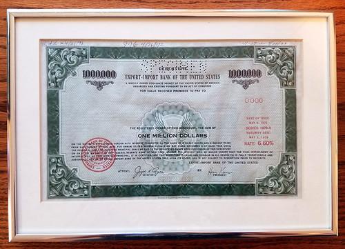 export-import-bank-debenture