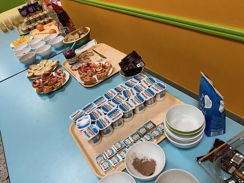 Petit déjeuner en CE1 A 2018