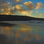 12. Detsember 2018 - 13:17 - Cloudscape over Porthmeor Beach, St Ives