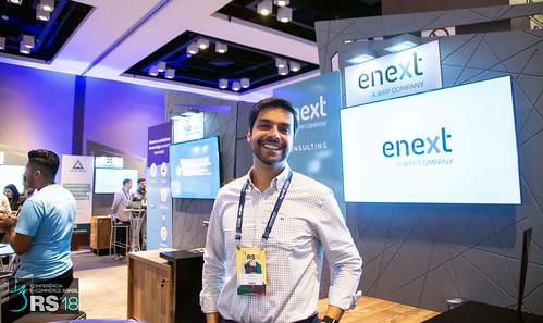Estande ENEXT - Conferência E-Commerce Brasil RS 2018