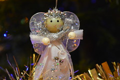 Christmas Angel tree decoration.