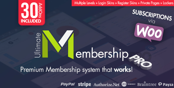 Ultimate Membership Pro v7.5 - WordPress Plugin