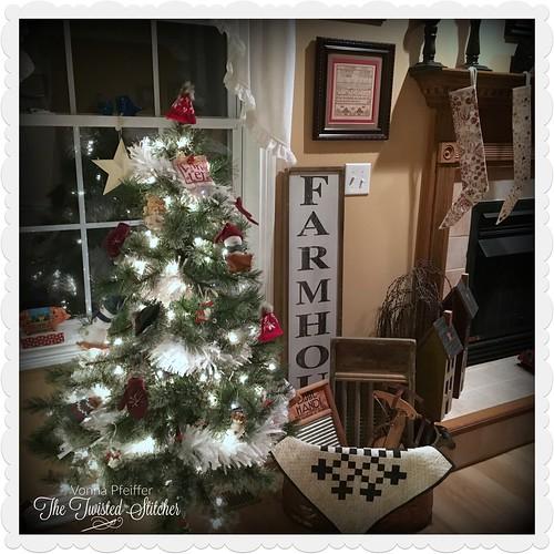 Snowman Tree 2019