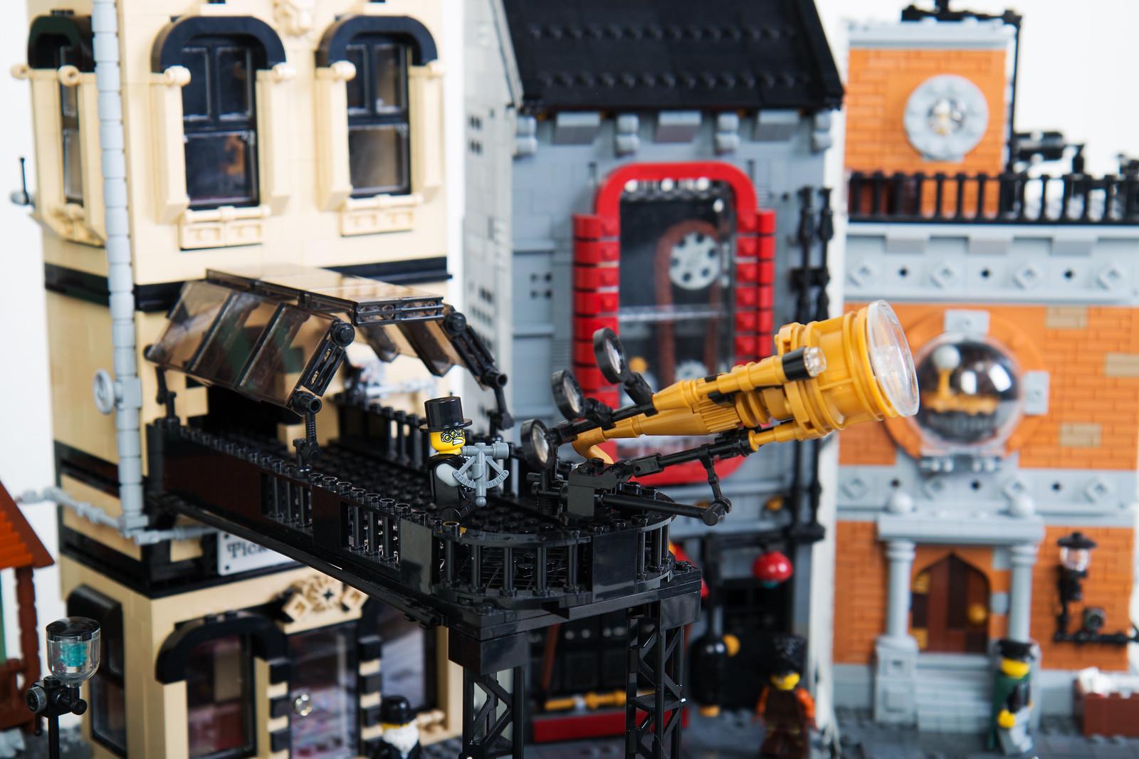 Dwalin Forkbeard lego creation