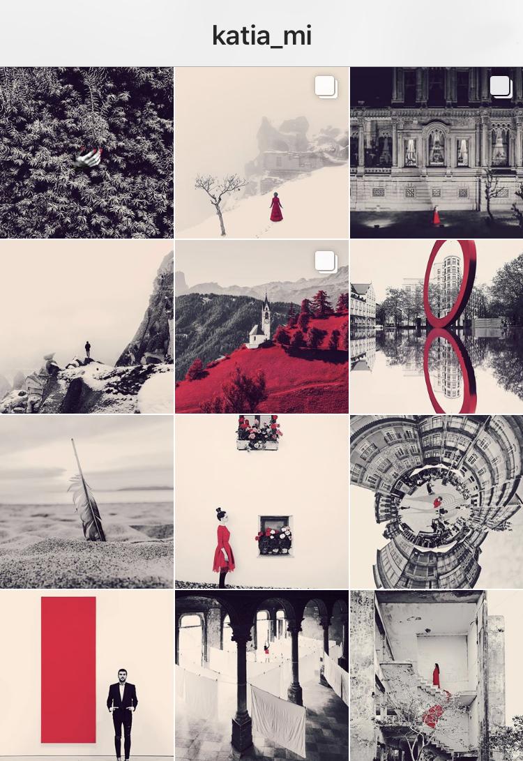 DISTRICT F — INSTAGRAM THEME IDEAS Идеи визуальных сеток для Инстаграма семь