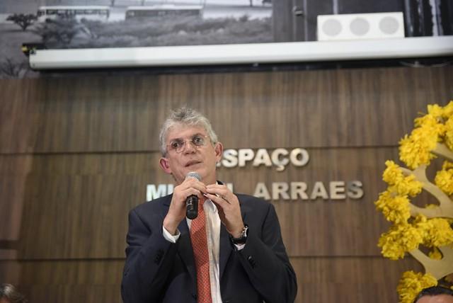 Posse de Ricardo Coutinho na presidência da FJM - 16/1/2019
