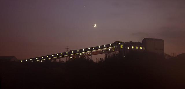 Winnington at night