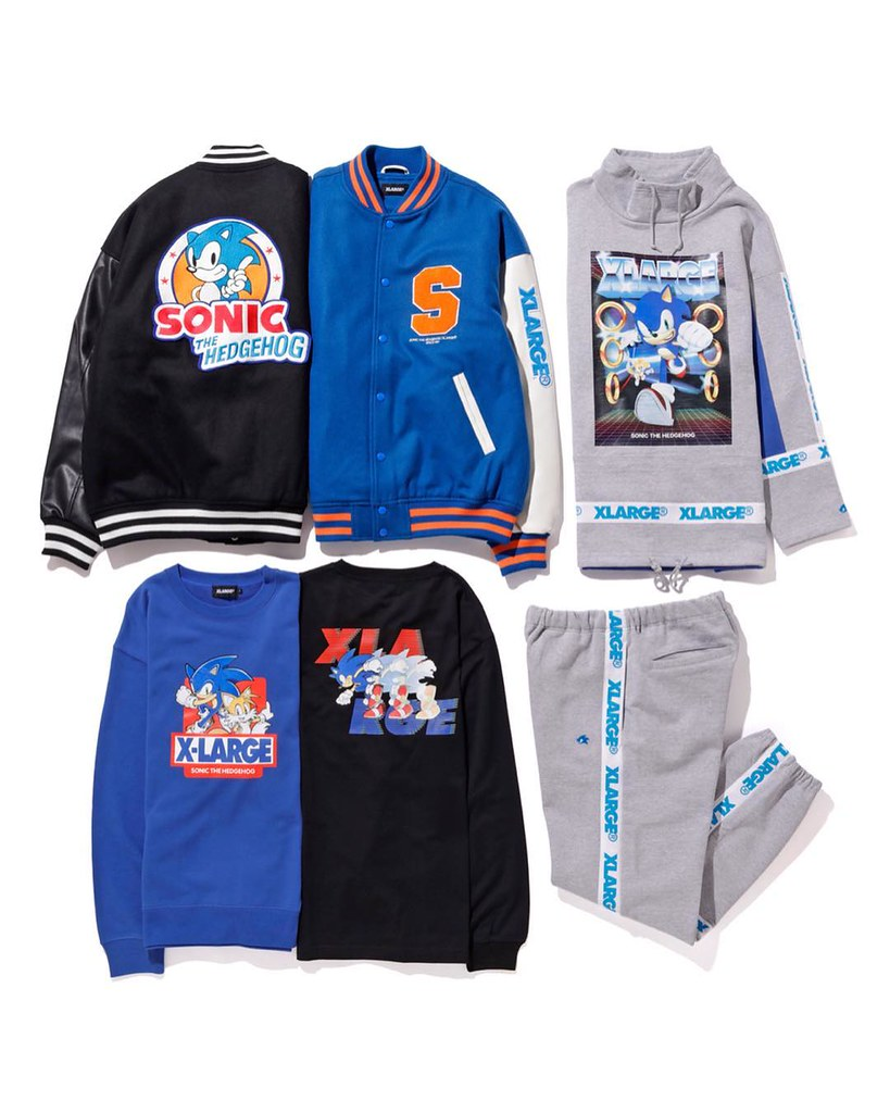 X-LARGE ×《音速小子》聯名服飾 XLARGE®×SONIC THE HEDGEHOG