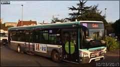Iveco Bus Urbanway 12 - RATP (Régie Autonome des Transports Parisiens) / STIF (Syndicat des Transports d'Île-de-France) n°8886