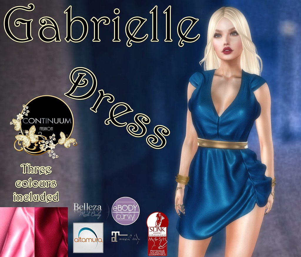 Continuum Gabrielle Dress @ Designer Circle